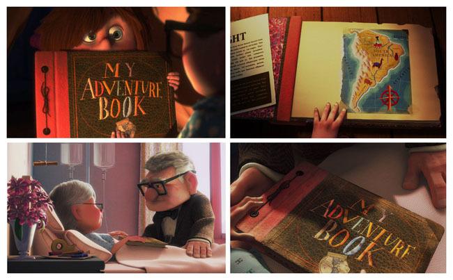 Up My Adventure Book with 80 Pages Wedding Photo Album Scrapbook Album ...